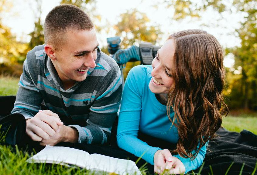 Jason and his wife know that reading the Bible together is key to good spiritual strength.